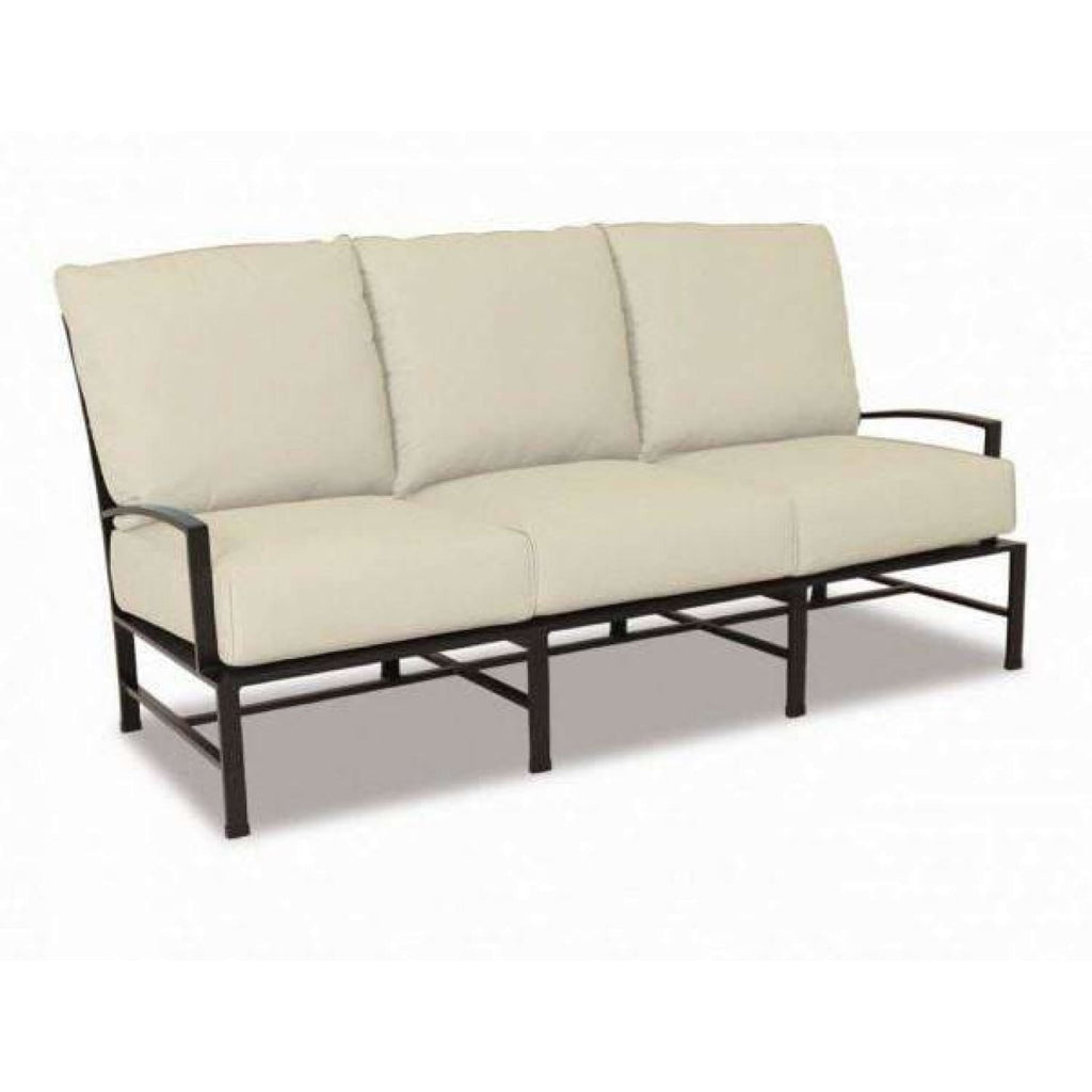 Sunset West La Jolla Outdoor Sofa with Cushions - Outdoor Sofa
