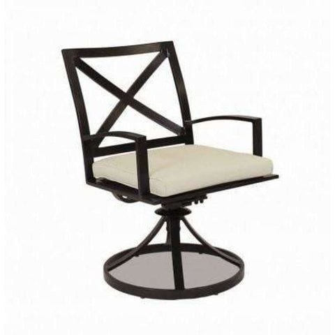 Sunset West La Jolla Swivel Outdoor Dining Chair - Outdoor Dining Chair