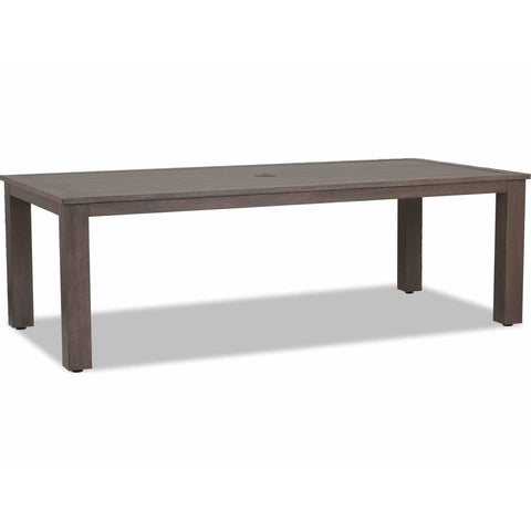 Image of Sunset West Laguna 90-inch Aluminum Outdoor Dining Table - Outdoor Tables