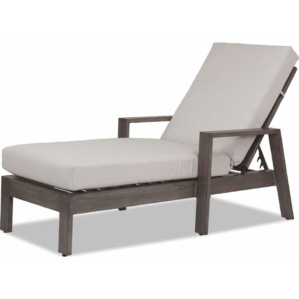 Sunset West Laguna Aluminum Outdoor Chaise Lounge - Chaise Lounge Chair