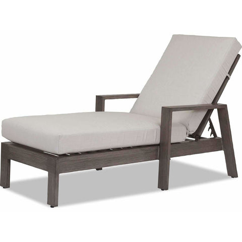 Image of Sunset West Laguna Aluminum Outdoor Chaise Lounge - Chaise Lounge Chair