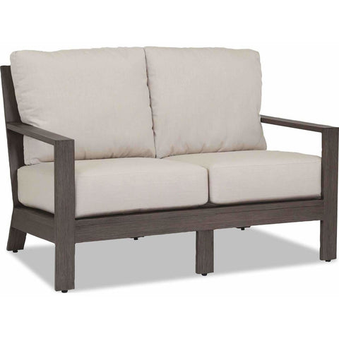 Sunset West Laguna Aluminum Outdoor Loveseat - Outdoor Sofa