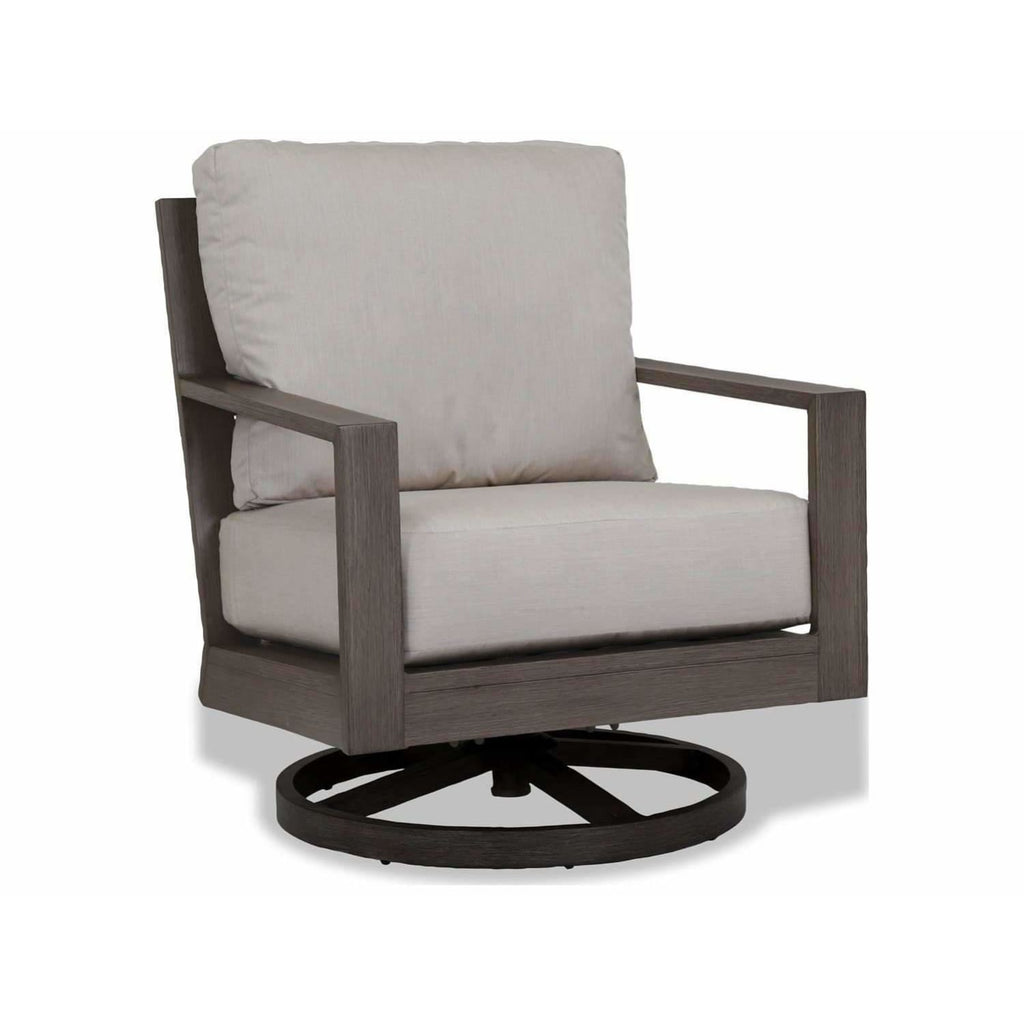 Sunset West Laguna Aluminum Outdoor Swivel Club Rocker - Outdoor Chair