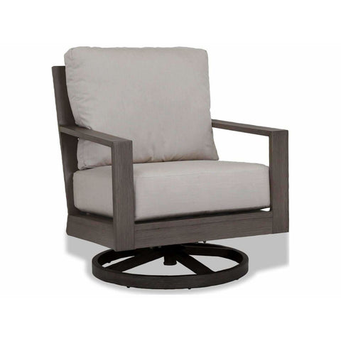 Image of Sunset West Laguna Aluminum Outdoor Swivel Club Rocker - Outdoor Chair