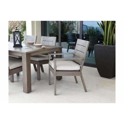 Image of Sunset West Laguna Square Aluminum Outdoor Table - Outdoor Tables