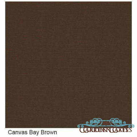 Image of Sunset West Leucadia Armless Outdoor Club Chair - Canvas Bay Brown - Outdoor Chair