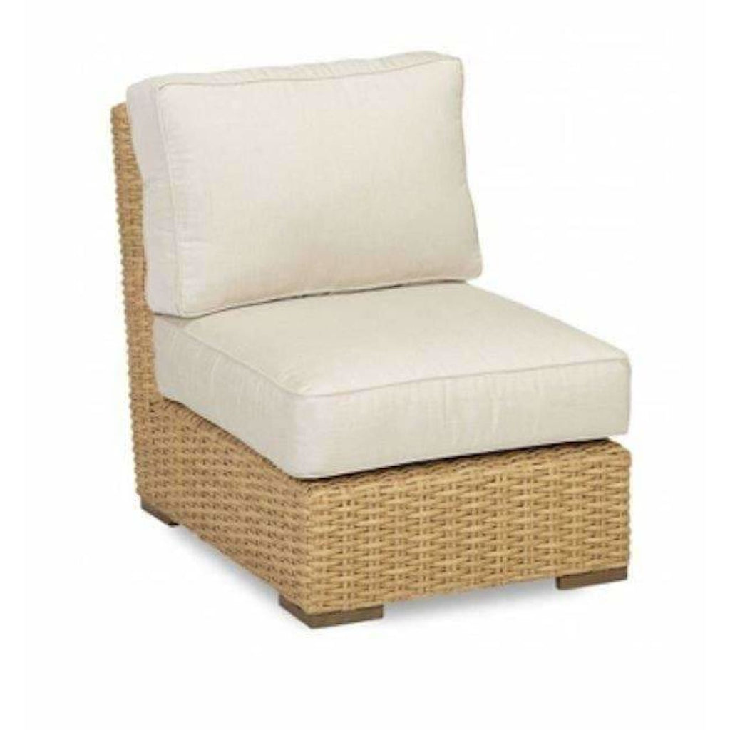 Sunset West Leucadia Armless Outdoor Club Chair - Outdoor Chair