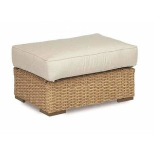 Sunset West Leucadia Outdoor Ottoman with Cushions - Outdoor Ottoman