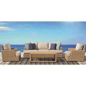 Sunset West Leucadia Outdoor Sofa and Club Chair Collection - Outdoor Sofa