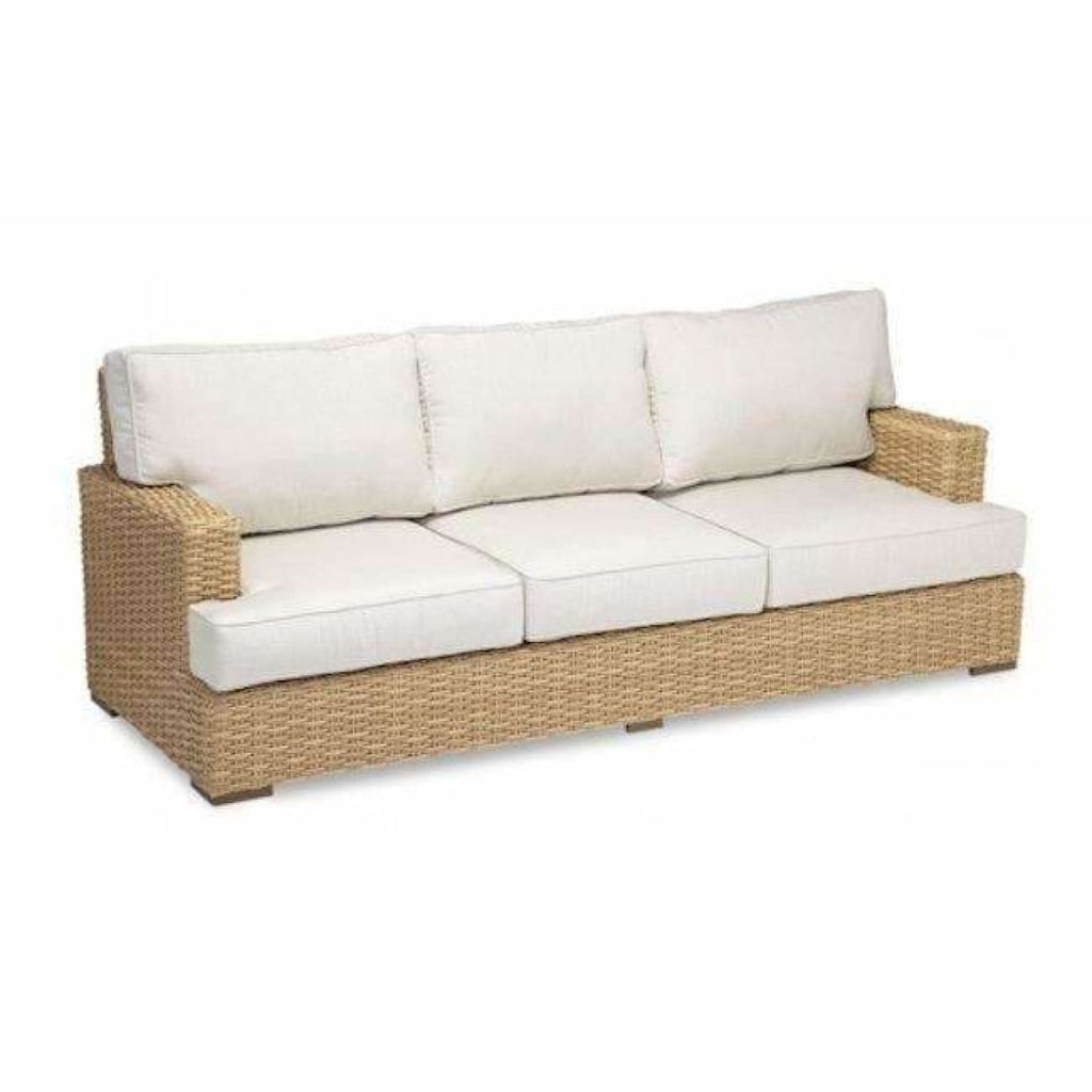 Sunset West Leucadia Outdoor Sofa with Cushions - Outdoor Sofa