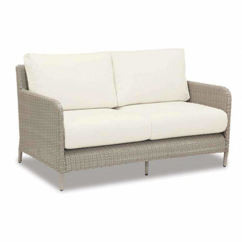 Image of Sunset West Manhattan Outdoor Loveseat and Chair Collection - Outdoor Lounge Sets