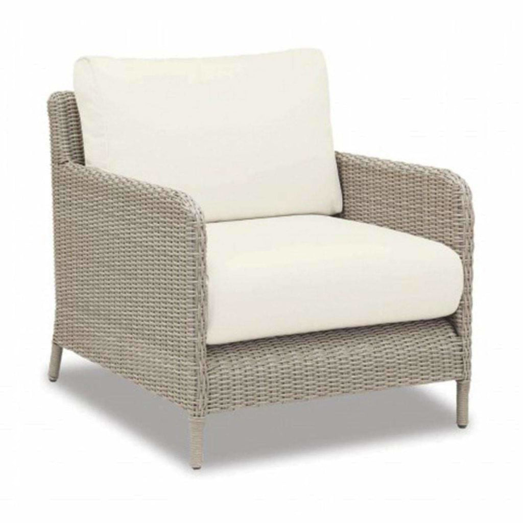 Sunset West Manhattan Outdoor Loveseat and Chair Collection - Outdoor Lounge Sets