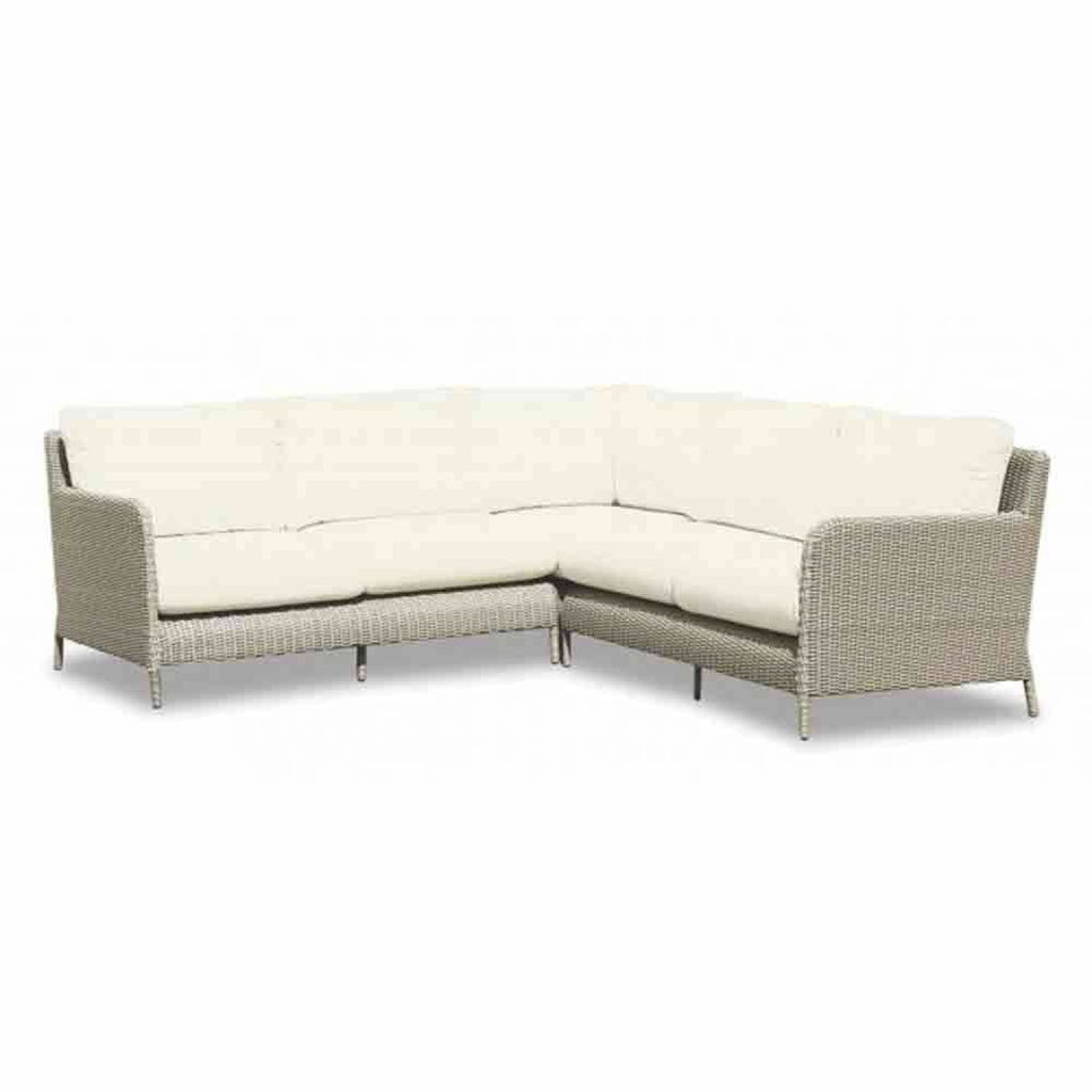 Sunset West Manhattan Outdoor Sectional - Outdoor Sofa