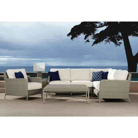 Image of Sunset West Manhattan Outdoor Sectional - Outdoor Sofa