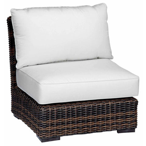 Image of Sunset West Montecito Outdoor Armless Club Chair - Outdoor Chair