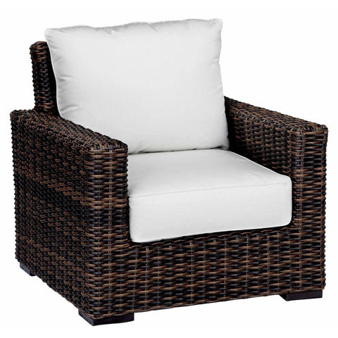 Sunset West Montecito Outdoor Club Chair with Cushion - Outdoor Chair