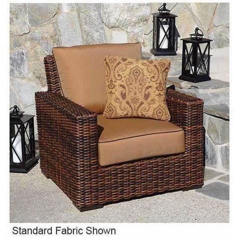 Image of Sunset West Montecito Outdoor Club Chair with Cushion - Outdoor Chair