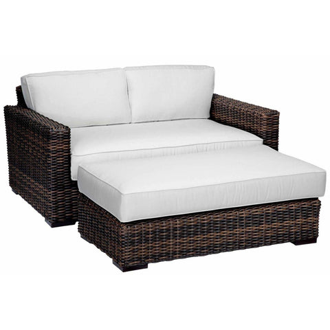 Sunset West Montecito Outdoor Double Chaise Lounge - Chaise Lounge Chair
