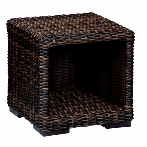 Image of Sunset West Montecito Outdoor End Table - Outdoor End Table