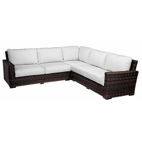 Image of Sunset West Montecito Outdoor Sectional with Cushions - Outdoor Sofa
