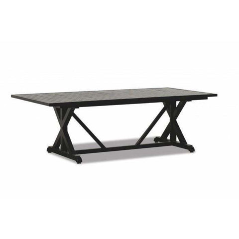 Sunset West Monterey Outdoor Large Rectangle Dining Table - Outdoor Dining Table
