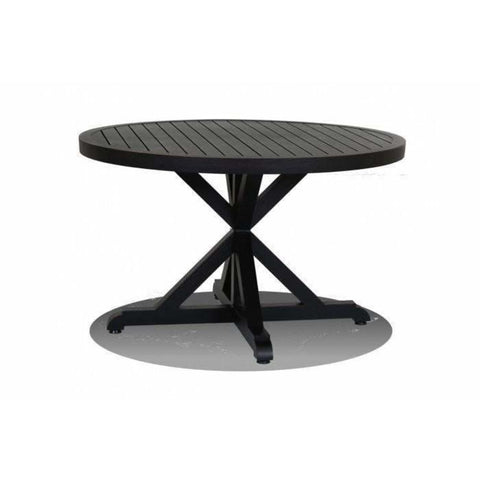 Sunset West Monterey Outdoor Medium Round Dining Table - Outdoor End Table