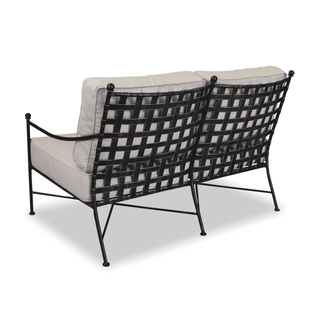 Sunset West Provence Outdoor Loveseat with Cushions - Outdoor Sofa