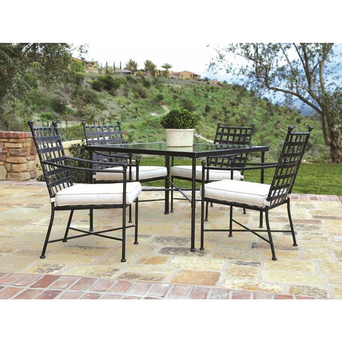 Image of Sunset West Provence Square Outdoor Dining Set - Outdoor Dining Table