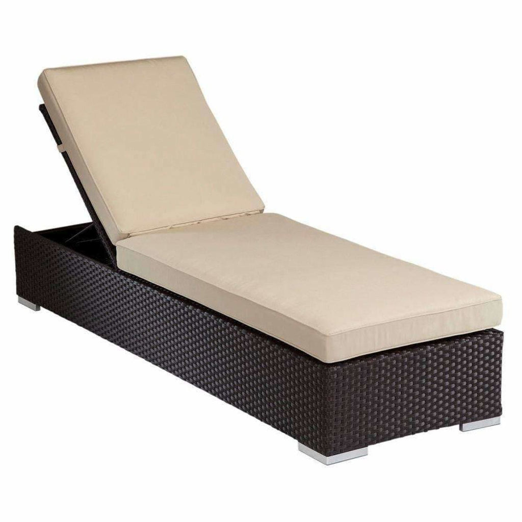 Sunset West Solana Outdoor Chaise Lounge - Chaise Lounge Chair