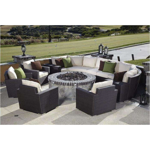 Sunset West Solana Outdoor Seating Collection - Outdoor Sofa