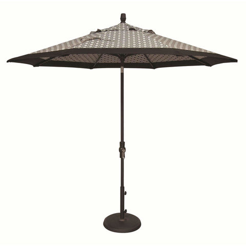 Image of Treasure Garden 9ft Aluminum Collar Tilt Umbrella - Treasure Garden