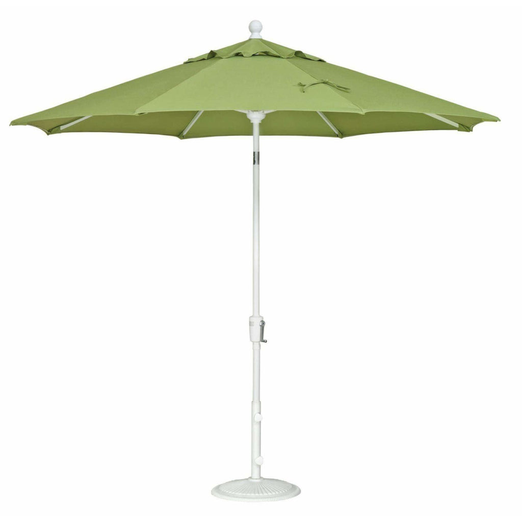Treasure Garden 9ft Aluminum Push Button Tilt Umbrella - Treasure Garden