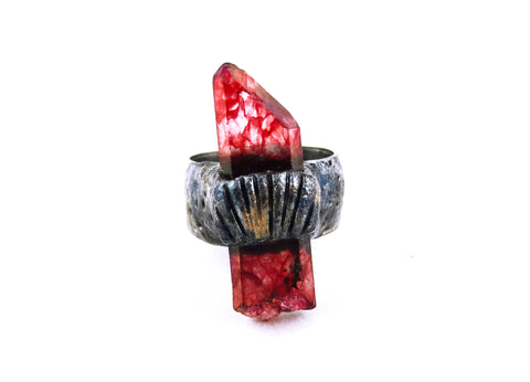 Ruby Red Quartz Ring