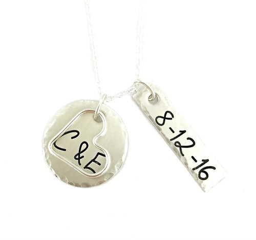 Anniversary Sterling Silver Necklace