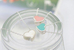 READY TO SHIP! Dainty Sweet Heart Necklaces