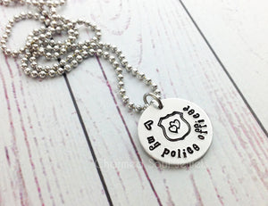 Love My Police Officer Necklace