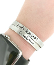 Load image into Gallery viewer, Personalized Name Cuff - Choose Your Style