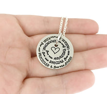 Load image into Gallery viewer, You Are Loved - Spiral Necklace