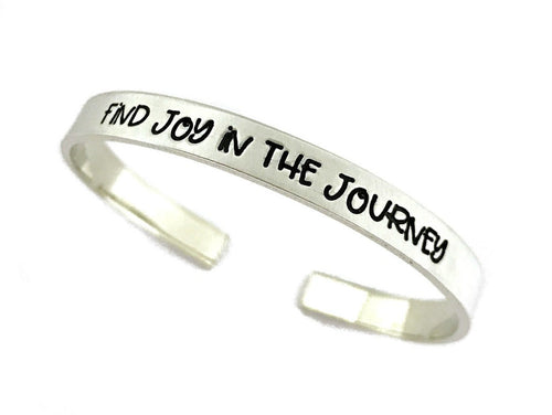Find Joy In The Journey Cuff