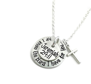 For I Know The Plans I Have For You Necklace