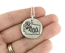 Load image into Gallery viewer, Tree Necklace - Nature Jewelry - Choose Your State - PNW Necklace