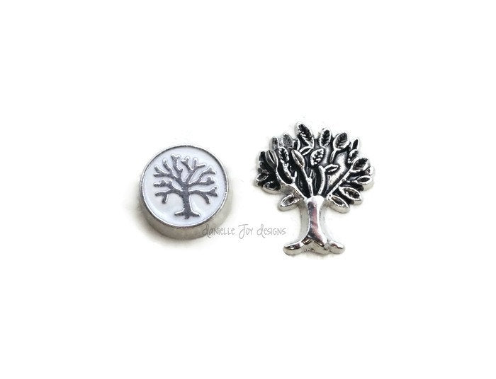 LOCKET CHARMS - Family Trees Add Charms To Your Floating Locket
