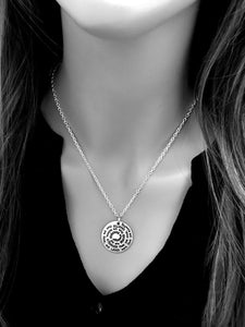 You Are Braver - Spiral Necklace