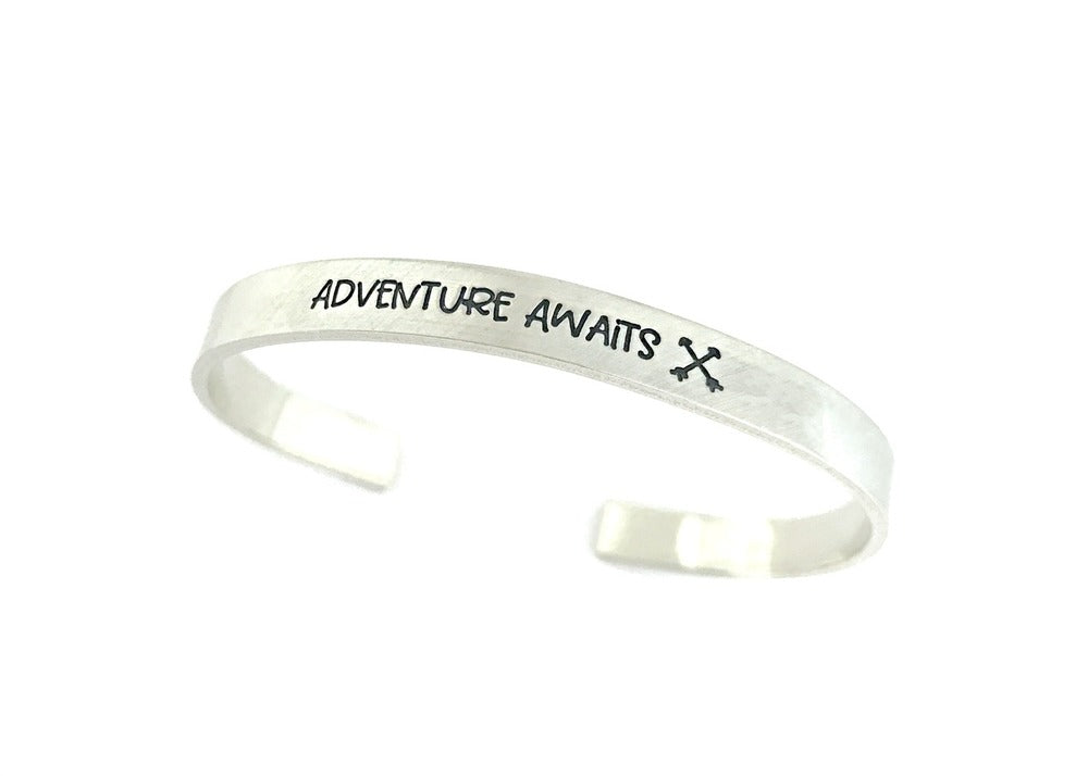 Adventure Awaits - Arrows Cuff