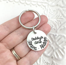 Load image into Gallery viewer, Daddy's Girls Keychain
