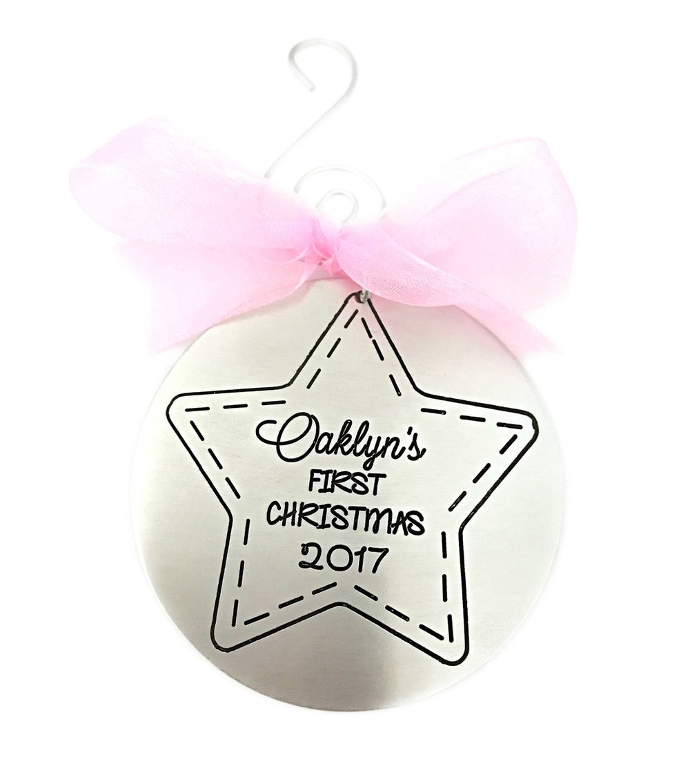Baby's First Christmas Ornament - 2017