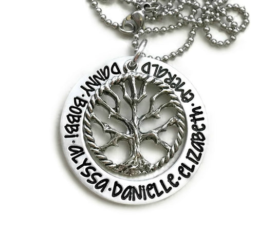 Family Tree of Life Necklace