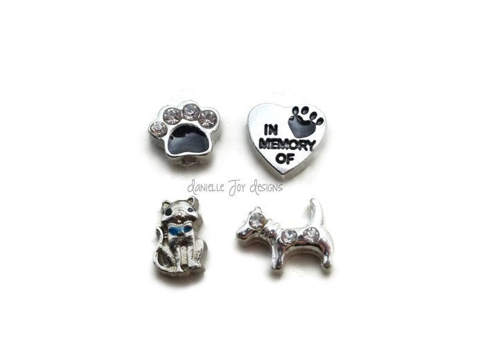 LOCKET CHARMS - Pet Animal - Add Charms To Your Floating Locket