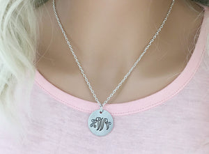 Monogram Personalized Necklace