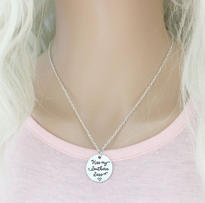 Kiss My Southern Sass Necklace